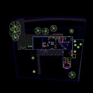 AutoCAD Floor Plan 1X1